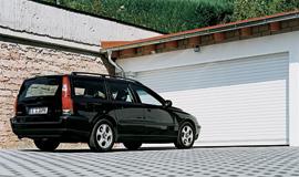 Rullport för garage